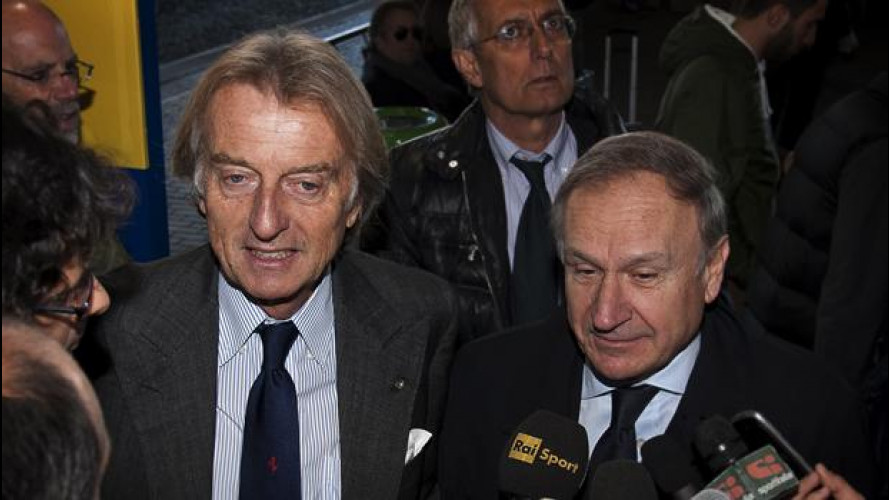 I campioni olimpici italiani in visita agli stabilimenti Ferrari
