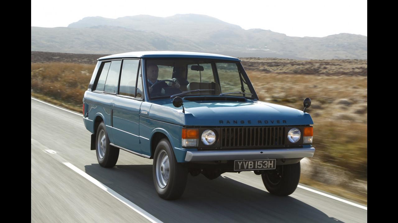 I 40 anni di Range Rover