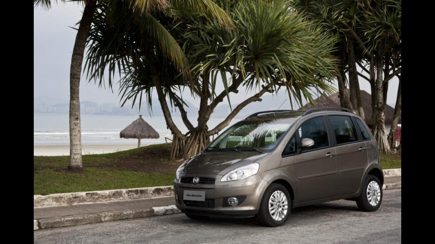 Fiat Idea restyling per il Brasile