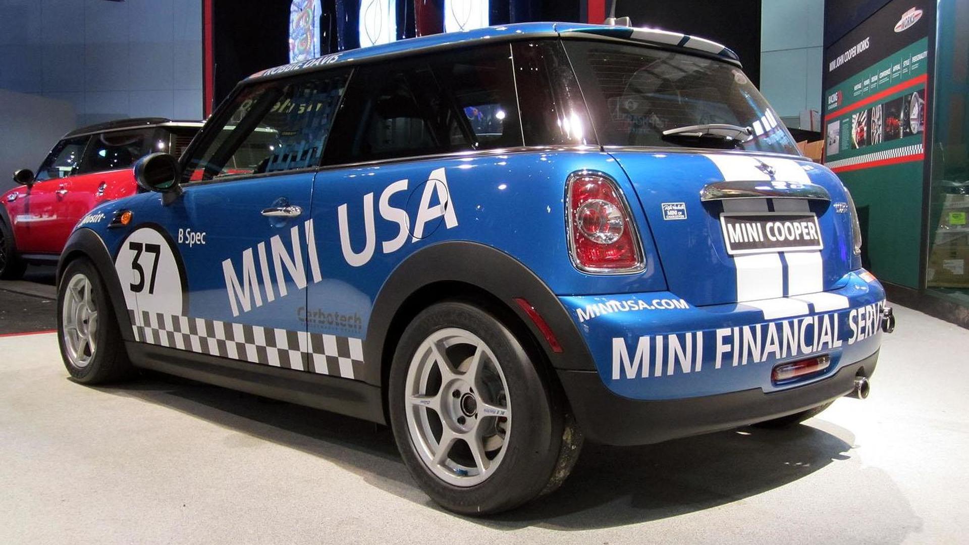 MINI Cooper B Spec racer introduced