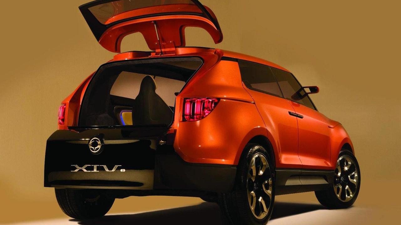 SsangYong XUV 1 concept 15.09.2011
