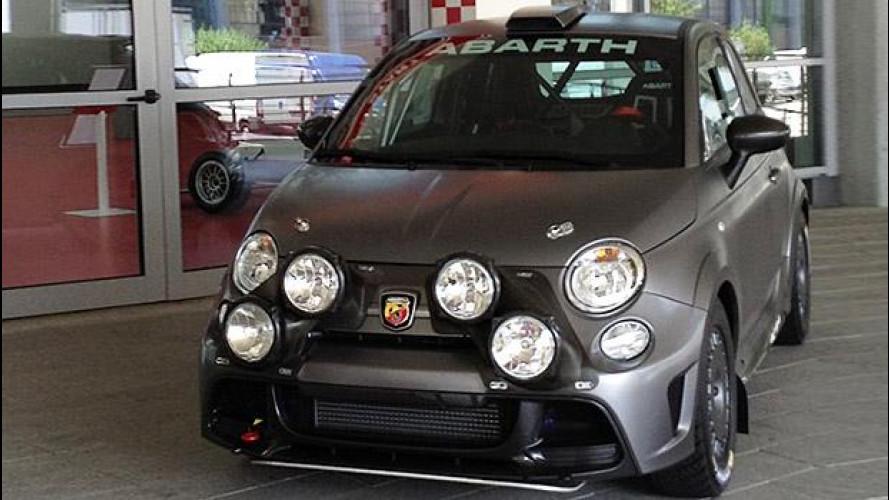 Abarth 695 Biposto R, ha fame di WRC