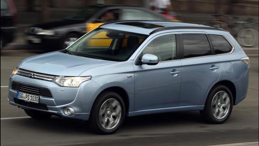 Mitsubishi Outlander PHEV, l'ibrido più elettrico che c'è