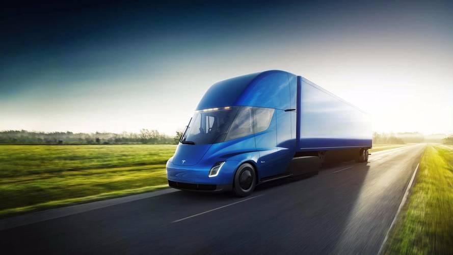 Camión eléctrico de Tesla