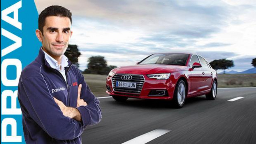 Nuova Audi A4, più bella da toccare e da guidare [VIDEO]