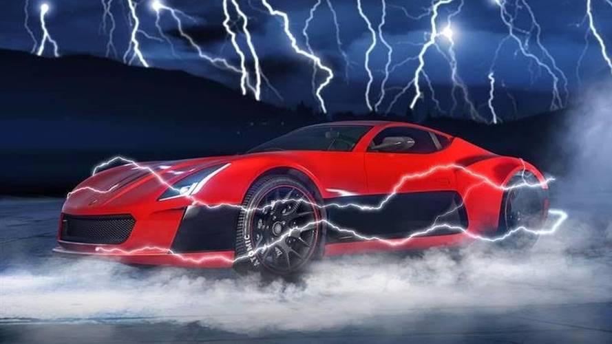 VIDÉO - Une nouvelle supercar électrique dans GTA V