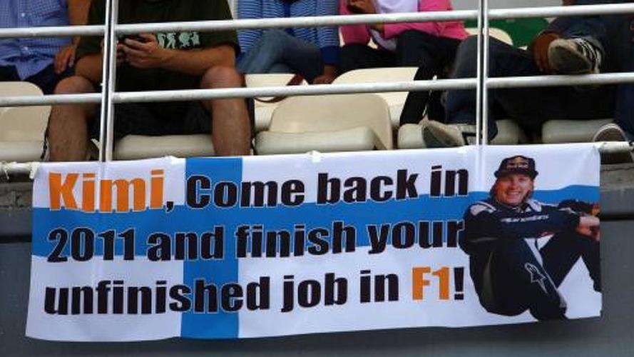 Raikkonen still not ruling out F1 return