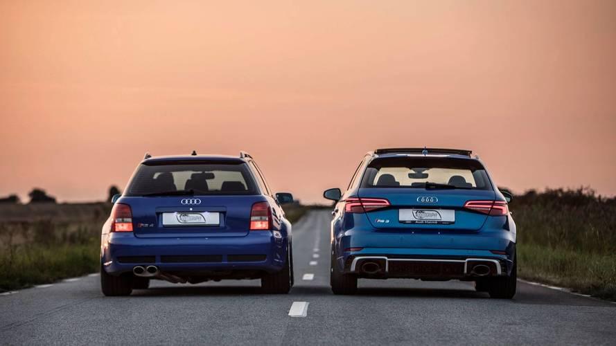 Audi RS 3 Sportback vs Audi RS 4 Avant B5