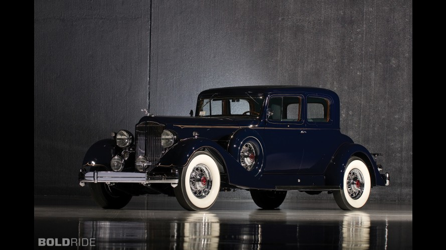 Packard Twelve 5-Passenger Victoria Coupe