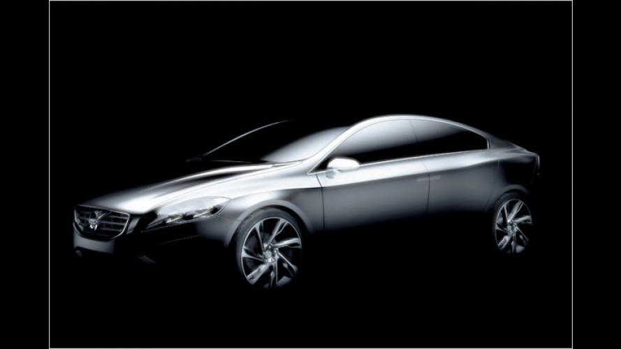 Volvo S60 Concept: Erster Vorgeschmack auf die Serie