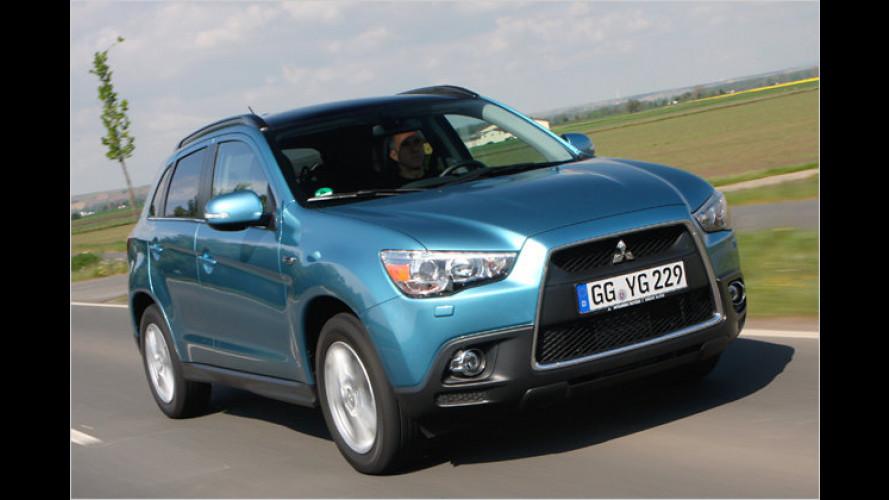 Nüchtern, sparsam & günstig: Mitsubishi ASX im Kurztest