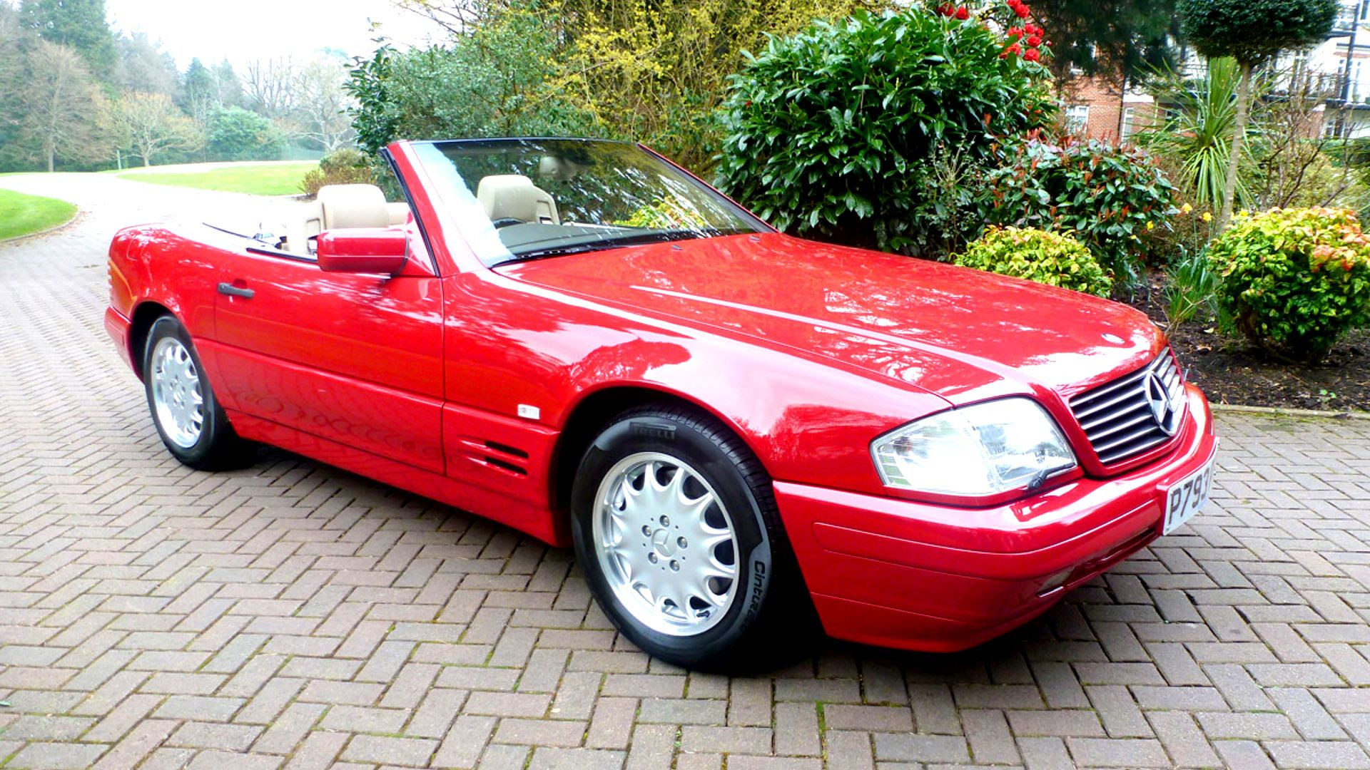 Time Warp This 1996 Mercedes SL500 Shows ly 81 Miles Since New