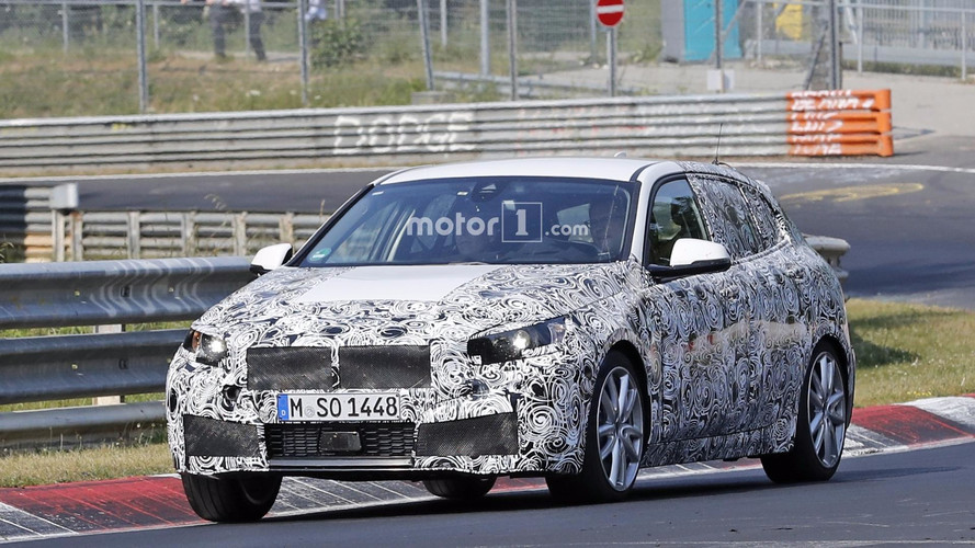 2019 BMW M140i Prototypes Spotted Torturing Tires