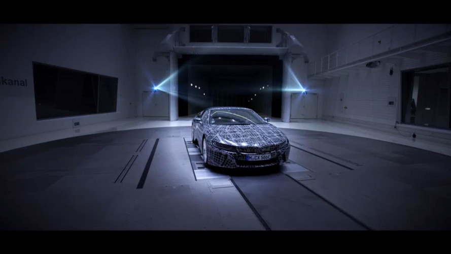 BMW i8 Roadster Officially Teased
