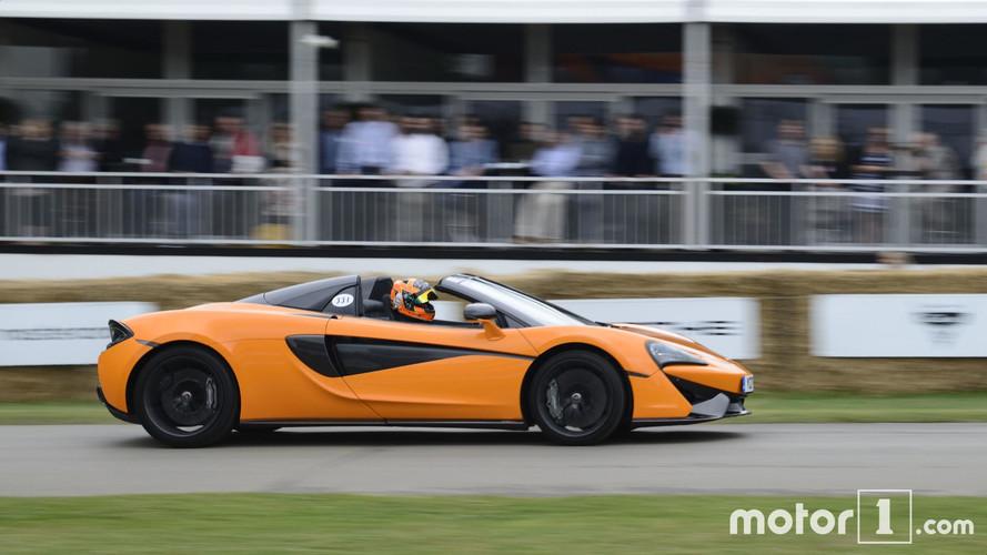 Goodwood 2017 – Première sortie pour la McLaren 570 S Spider