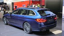 2017 BMW 5 Series Touring live in Geneva
