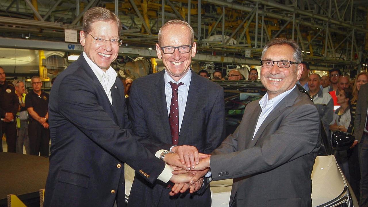 Opel Crossland X production