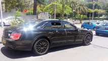 2019 Bentley Flying Spur with production body spy photo