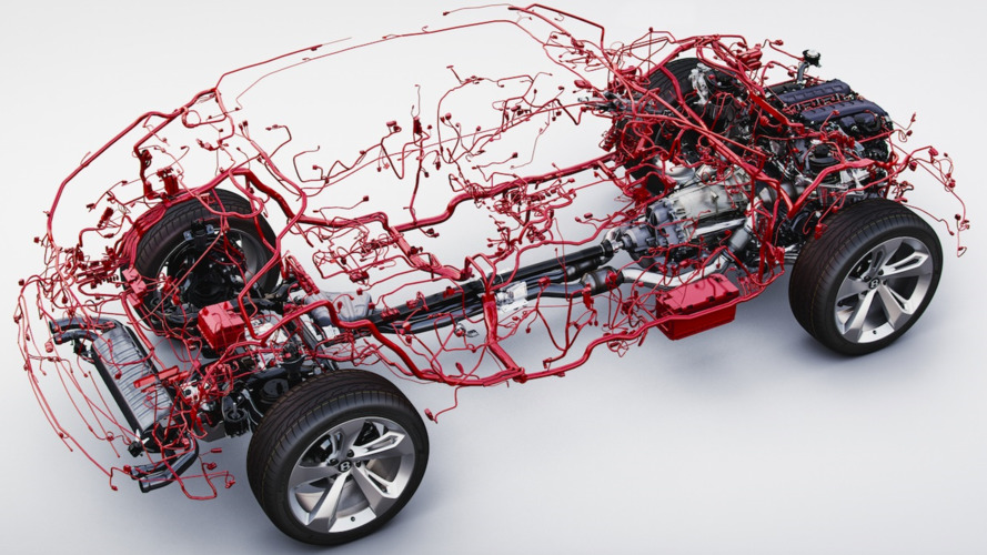 bentley bentayga wiring harness is weirdly beautiful rh uk motor1 com wiring harness karmann ghia wiring harness corvette c3 rebate