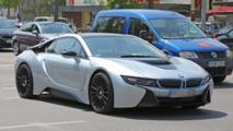 BMW i8 performance variant spy shots