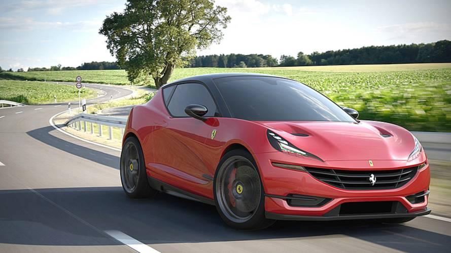 Ferrari Hot Hatchback Render