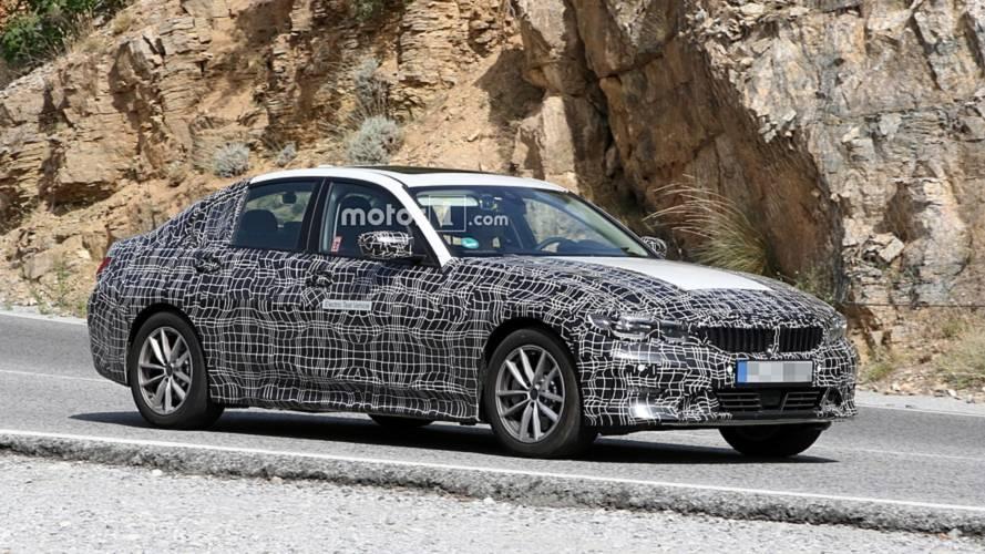 BMW 3 Series Electric spy photos