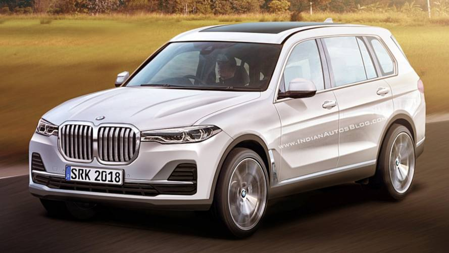Leaked BMW X7 Images Transformed Into Realistic Rendering