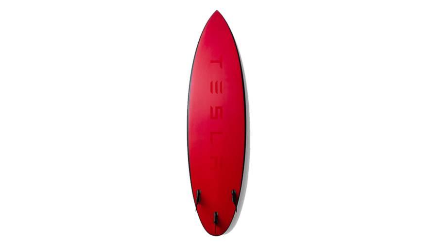 La tavola da surf di Tesla
