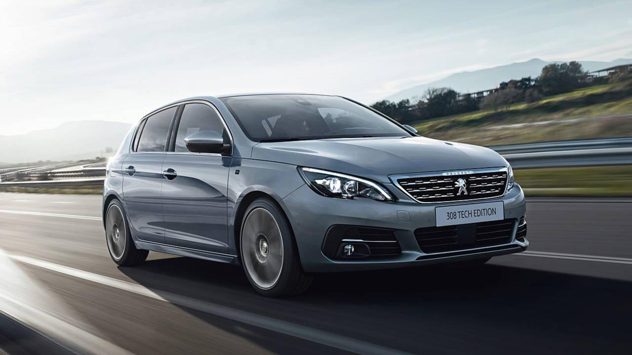 peugeot 308 adds new tech edition model. Black Bedroom Furniture Sets. Home Design Ideas
