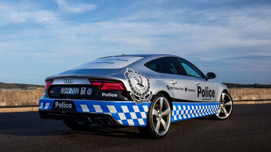 Audi S7 Sportback Avustralya'da polislik yapacak
