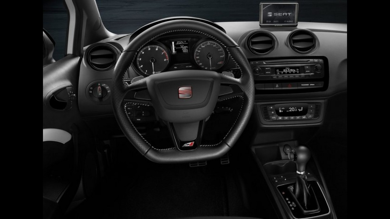 Seat lança Ibiza Cupra reestilizado na Europa - Modelo de 180 cv está ainda mais rápido