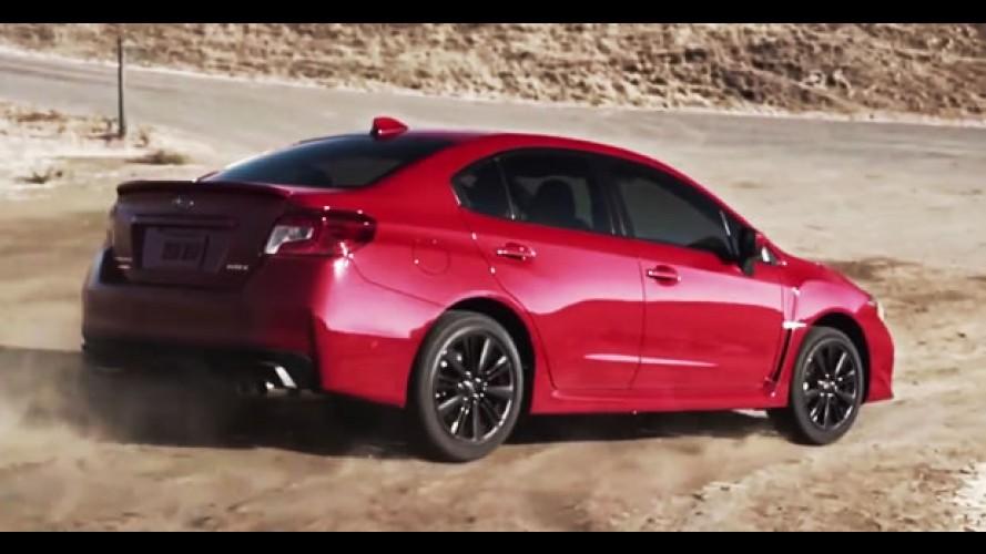 Vídeo: veja o novo Subaru WRX 2015 em ação