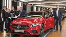 Mercedes-Benz A-Class production start