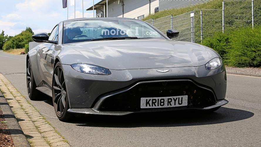 Aston Martin Vantage S (Photos espion)