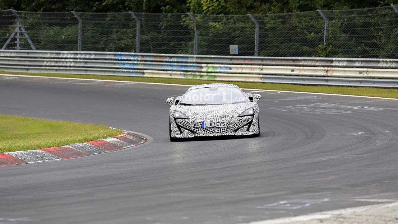 McLaren 600LT spy photo