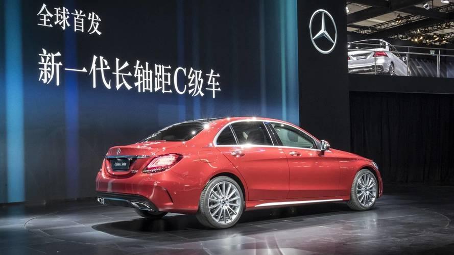 2018 Mercedes C-Serisi L, Pekin'de ortaya çıktı