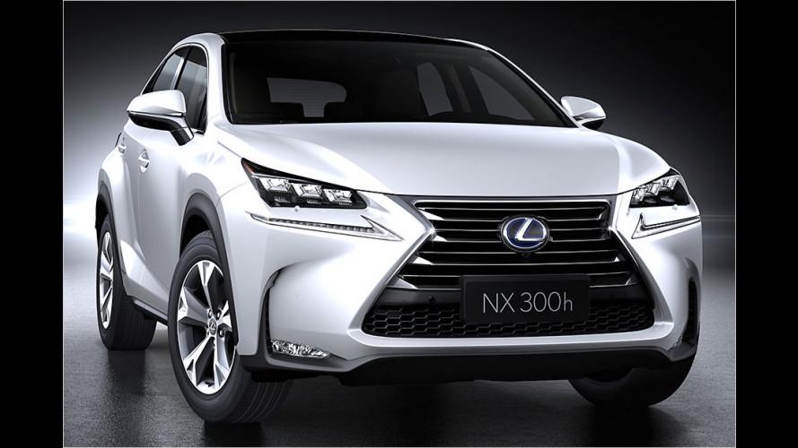 Lexus NX: Scharfes Teil debütiert in Peking