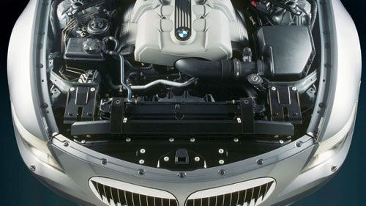 6 Series V8 engine