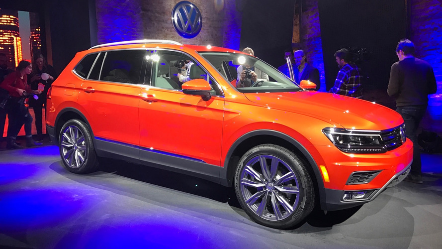 Détroit 2017 - Voici le nouveau VW Tiguan Allspace !