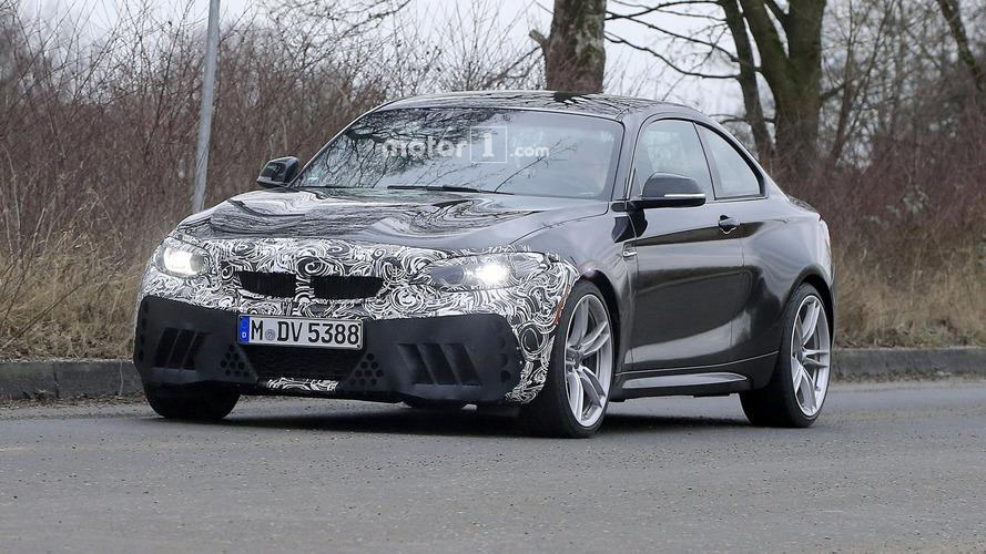 Une BMW M2 CS et GTS en préparation