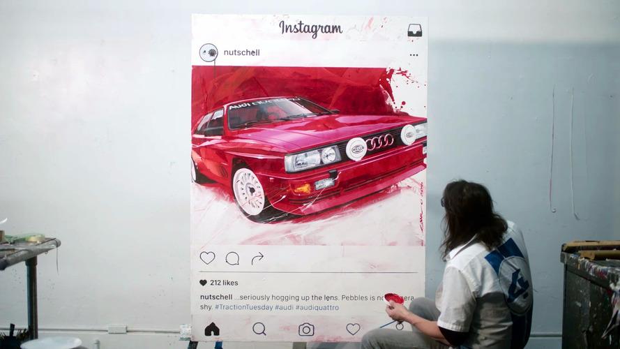 Audi Quattro Coupe'nin sanata dönüşümü
