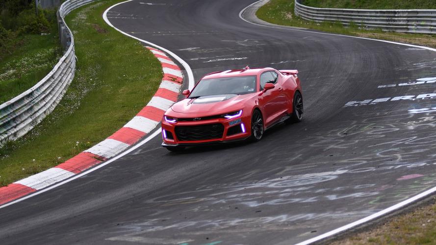 Camaro ZL1 'Ring'de Koenigsegg'den hızlı