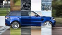 Land Rover Range Rover Sport SVR 0 à 100 km/h