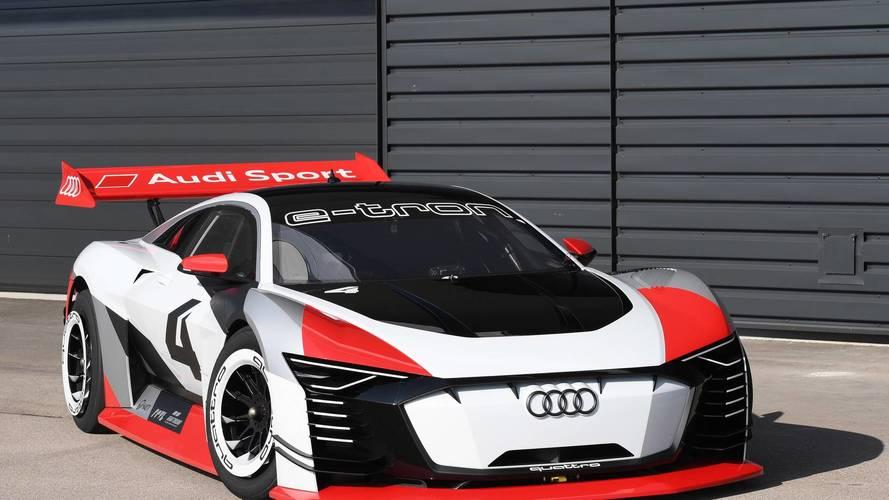 815 lóerős tanulmány lett az Audi e-tron Vision Gran Turismo