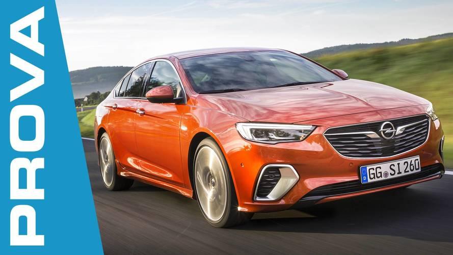 Opel Insignia GSi, la sportiva da portare in vacanza