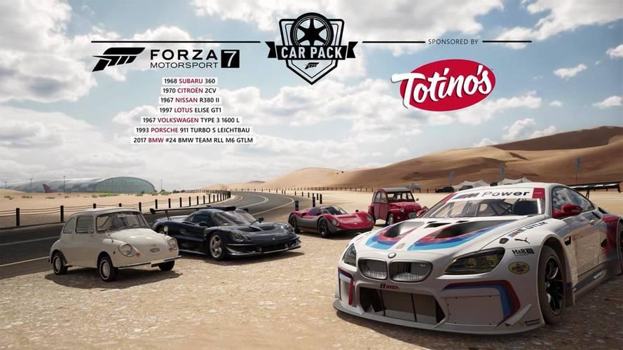 Subaru 360, Citroën 2CV, VW Type 3 Highlight Quirky Forza Car Pack