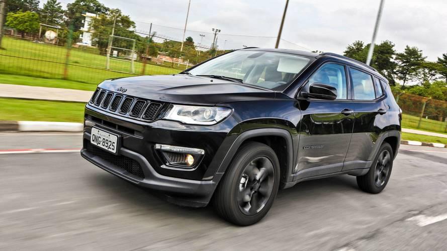 Jeep Compass sofre aumento de preços de até R$ 3.000