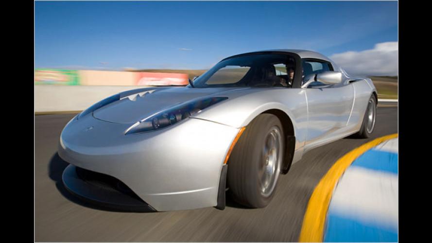 Made in California: Viertüriger Tesla kommt Ende 2010