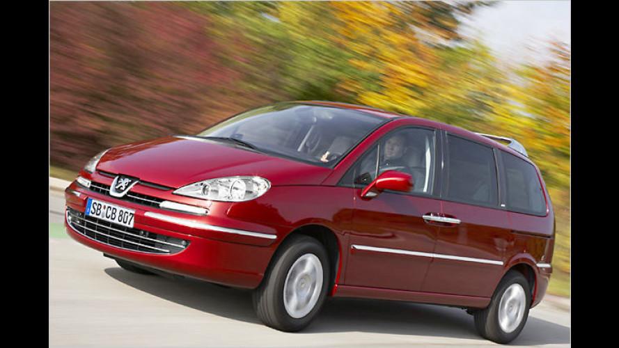 Peugeot 807: Hübsch gemacht fürs neue Kalenderjahr