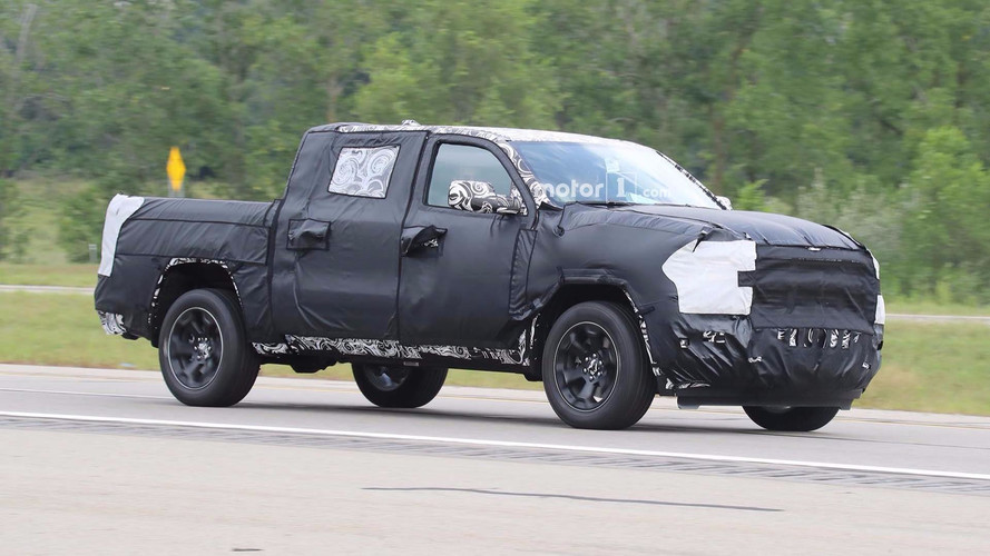 2019 Ram 1500 Spied With Interior And Lights Exposed
